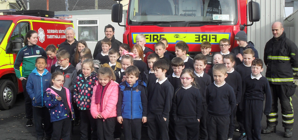 Visit to Cappamore Fire Station